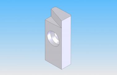 Kolbus Carbide Leveling Blade w/screw 20.5mm x 8mm x 5mm